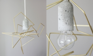DIY concrete lamp Weekday Carnival 2 images